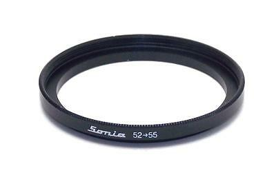 Metal Step up ring 52mm to 55mm 52-55 Sonia New Adapter