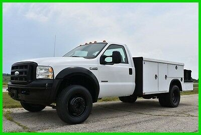 2007 Ford F-450 XLT 2007 Ford F-450 Utility-Service Truck- Diesel - 82k miles. - Buy it now!