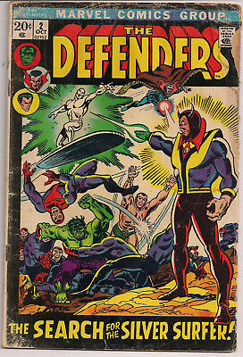 Marvel Comics Group The Defenders #2 reading copy