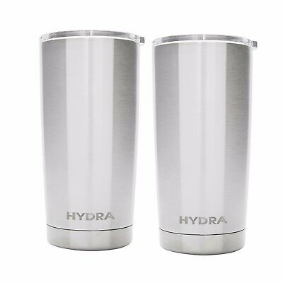2-Pack Hydra Coolers Stainless Steel Double Wall Vacuum Insulated Tumbler 20 oz