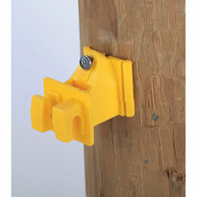 Dare Electric Fence Snug Wood Post Insulator Pasture Farm 25 Count