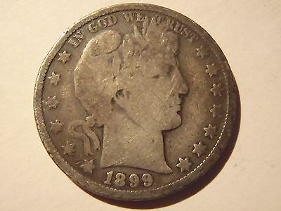 Good and Tarnished 1899-O Half Dollar!