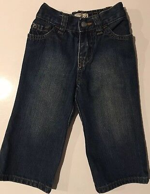 New The Childrens Place Baby Jeans Pants Boot Cut Sz 12-18 Mos. 100% Cotton NWT