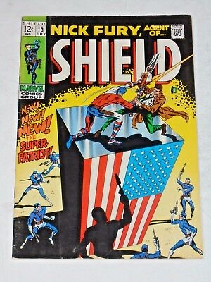 Nick Fury Agent Of Shield #13 comic book (VG+)