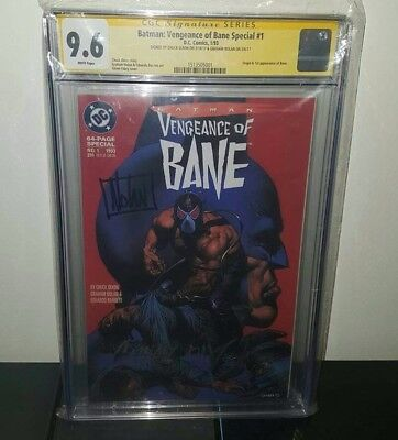 CGC Signature Serie CGC 9.6 DC Comics Batman Vengeance of Bane #1 Comic Book