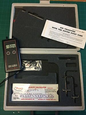 Dwyer 475-4 mark III digital manometer. Excellent condition - with case + extras