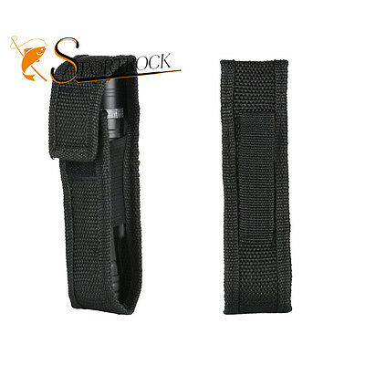 FX Nylon Small Size Flashlight Pouch Case Holder Portage Carrier Holster Cover