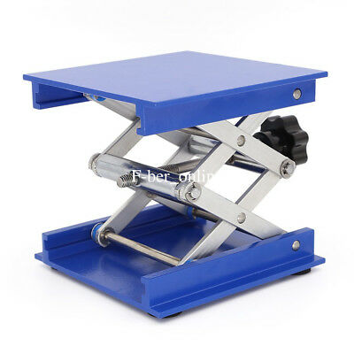Lab-Lift Lifting Platforms Stand Rack Scissor Lab Jack Lab-Lifting Aluminum 4×4""