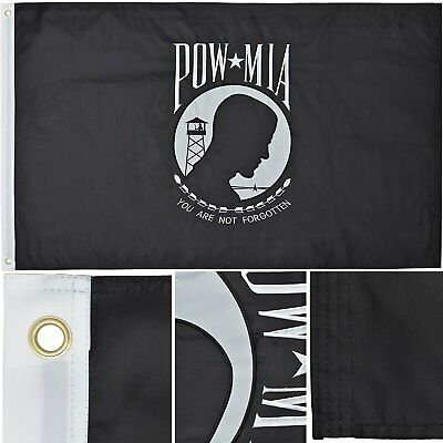2x3 Embroidered US Army 2-Ply 300D Nylon Double Sided Flag 2/'x3/' Pin /& Clips