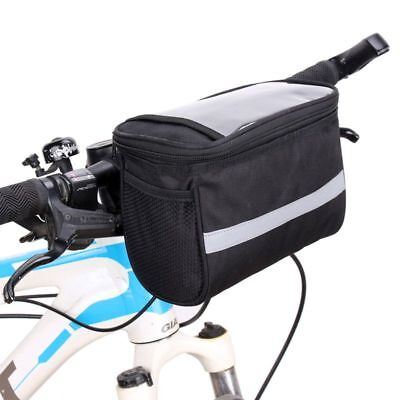 20*12*15 CM Durable Bike Bicycle Cycling Handlebar Bar Bag Front Basket Camping