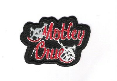 patch embroidered / écusson thermocollant Mötley Crüe
