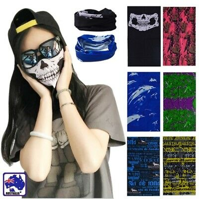 2pcs Bike Bicycle Cycling Bandana Scarf Head Neck Balaclava Face Mask OCSC875
