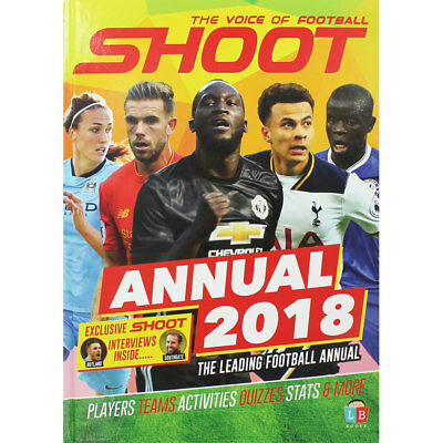 Shoot Official Annual 2018 (Hardback), Non Fiction Books, Brand New