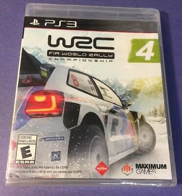 WRC 4 [ FIA World Rally Championship 4 ] (PS3) NEW