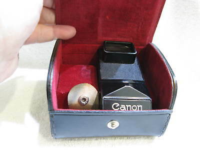 Canon  F-1  Accessories    Speed Finder  , V/Good Condition