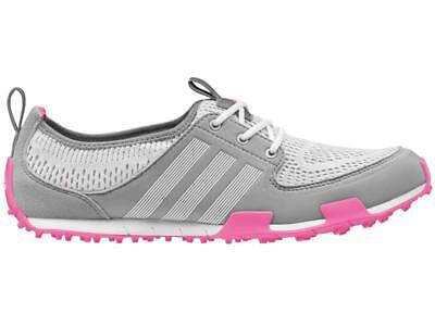 Adidas Ballerina II Ladies Golf Shoes - Clear Grey/White