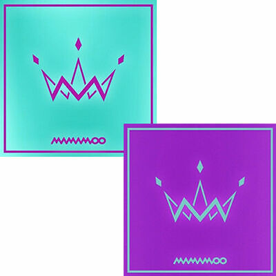 MAMAMOO [PURPLE] 5th Mini Album PURPLE/MINT Ver CD+POSTER+Photo Book+Card SEALED