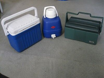 Stanley lunch box/cooler+ Willow ESKY + Willow 5litre water jug (USED)