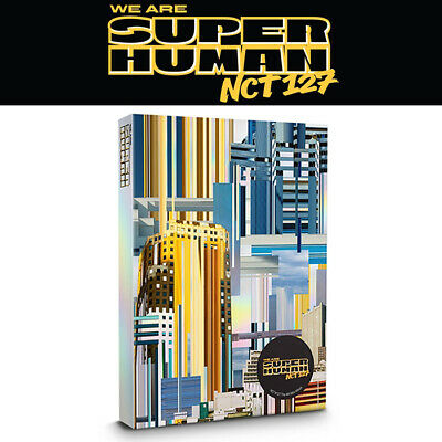 NCT # 127 [WE ARE SUPERHUMAN] 4th Mini Album CD+POSTER+PBook+2p Card+GIFT SEALED