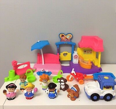 Fisher Price Little People Ice Cream Stall Trike Playset Girls Toys