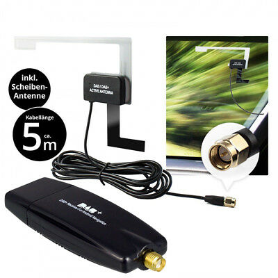 Usb Dab + Receiver Tuner Disc Antenna Adapter Stick For Android Autoradio