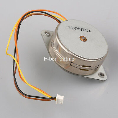 1x 35mm Stepper Motor DC 5v 2-Phase 4 Wire Small Micro Step Motor With Gear