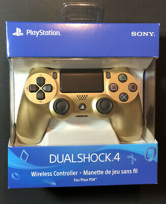 Official Sony PS4 DualShock 4 Wireless Controller [ GOLD Edition ] NEW