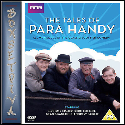 Tales Of Para Handy - Complete Series 1 & 2  *Brand New Dvd Boxset***