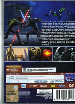 Star Wars Rebels - Stagione 01 (DVD) 12 EURO NUOVO