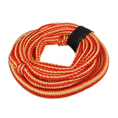 Heavy Duty Red and Yellow 50ft Tow Strap Rope Harness 3300 LB for Motor Boat