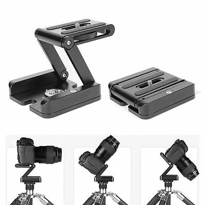 Photography Camera Flexible Tripod Z Pan Tilt Bracket Folding Head Studio Stand