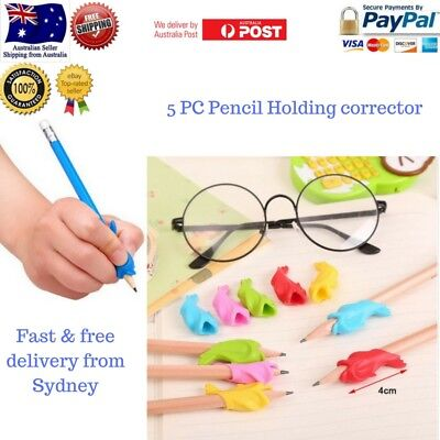 5pc School Stationery Pencil pen Holding Practice Correcting Posture Handwriting