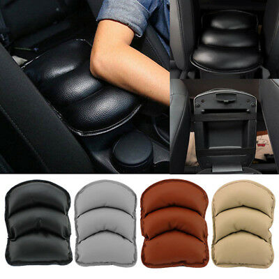Durable PU Leather Car SUV Center Box Armrest Console Soft Pad Cushion Cover Mat