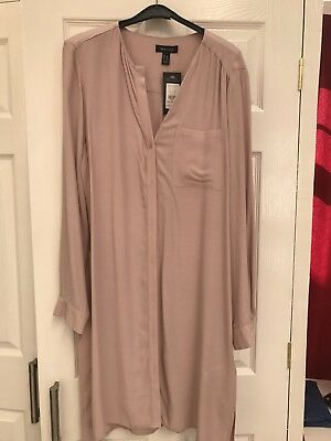 Ladies New Look Long Shirt Size 14