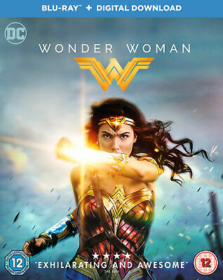 Wonder Woman (Blu-Ray) 2017 film Gal Gadot & Chris Pine