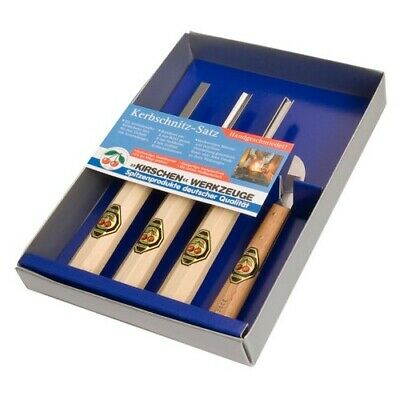 Kirschen Carving Chisel Set - 4pc