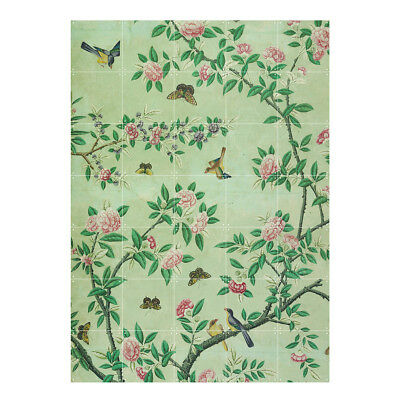 NEW IXXI chinese wallpaper no 7 green wall art by Until