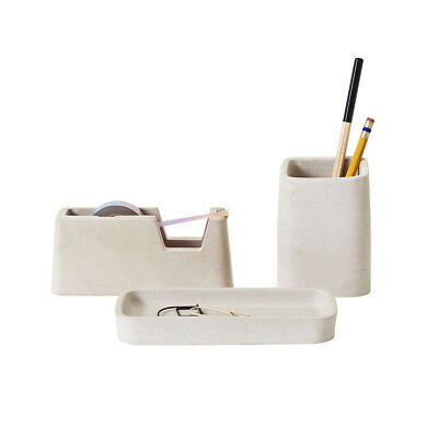NEW Areaware concrete desk set small Men's by Until