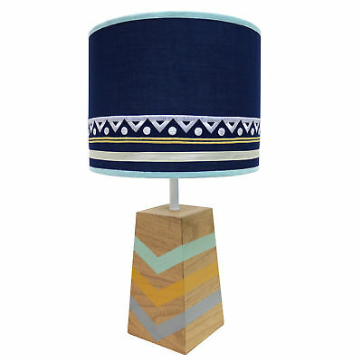Indio Lamp Base and Shade Native American Themed by The Peanut Shell