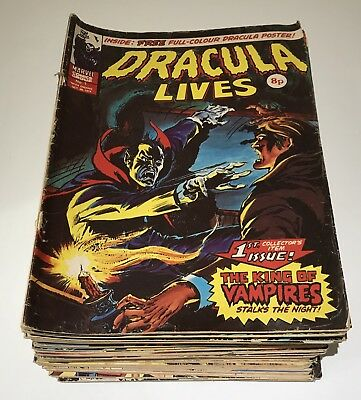 Dracula Lives Comic Collection with poster and special edition