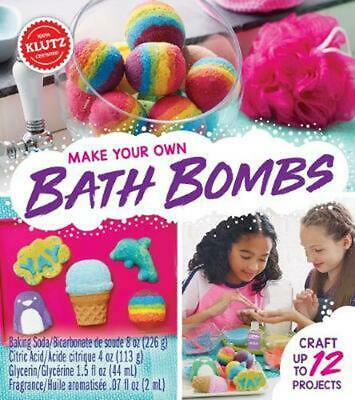Make Your Own Bath Bombs by Editors of Klutz Novelty Book Free Shipping!
