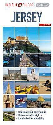 Insight Flexi Map Jersey (Insight Flexi Maps), Guides, Insight, New Book