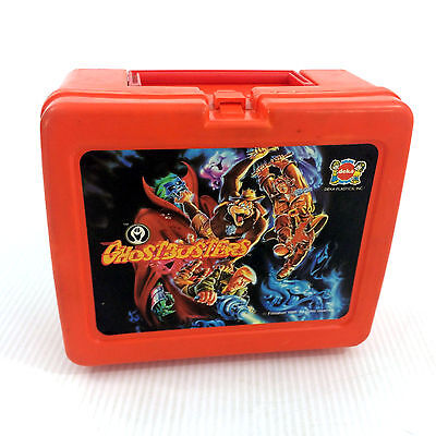 Filmation's Ghostbusters Lunch Box Vintage 1986 Original Cartoon Deka Very Rare!