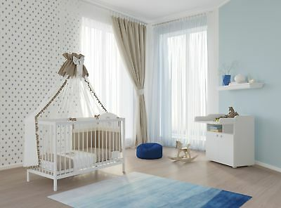 polini kids babyzimmer kinderzimmer kombikinderbett mit. Black Bedroom Furniture Sets. Home Design Ideas