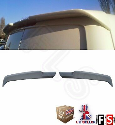 Vw Transporter T5 T6 Rear Roof Boot Spoiler Caravelle Rear Twin Barn Door  03-15