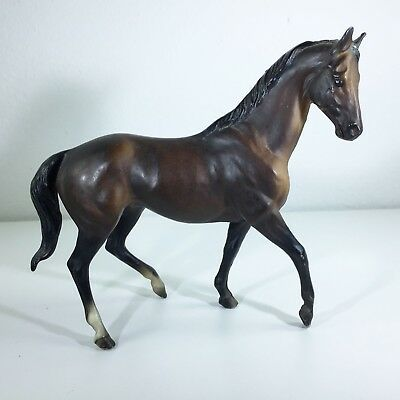 Breyer Classic Horse #601 Kelso Thoroughbred Racehorse Dark Bay 1975-90 EUC