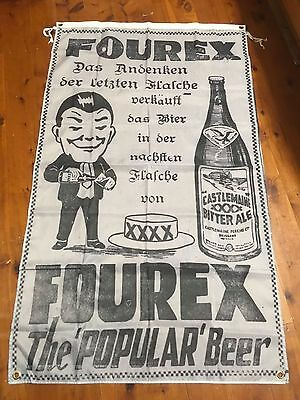 Huge xxxx printed flag 3x2 ft man cave flag Ned Kelly wall hanging fourex beer