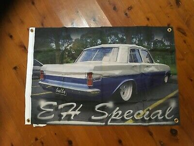 EH Holden EJ GMH Monaro 3x2 foot mancave flags shed poolroom wall hanging