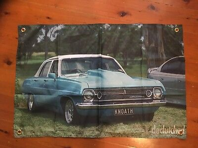Hr ht holden GMH 3x2 foot mancave flags shed poolroom wall hanging Monaro torana