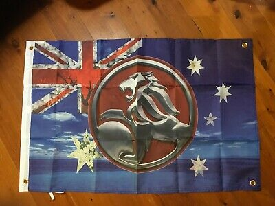 3x2 foot EH HOLDEN STATION WAGON mancave flags shed poolroom wall hanging gmh